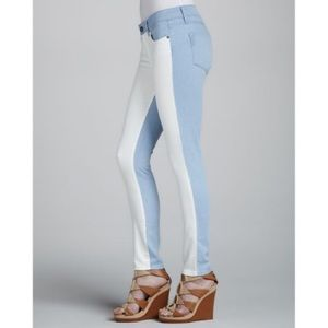 NWT. PAIGE | Emily Ultraskinny Colorblock Jeans